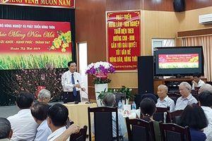 Bộ trưởng Bộ NN-PTNT chúc tết các đơn vị trực thuộc ở phía Nam