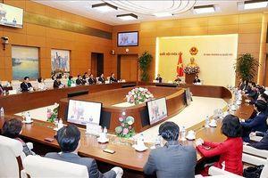 Chủ tịch Quốc hội tiếp nhóm Nghị sĩ hữu nghị Hàn Quốc - Việt Nam