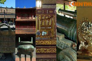 Điểm danh những bảo vật vô giá của vương triều Nguyễn