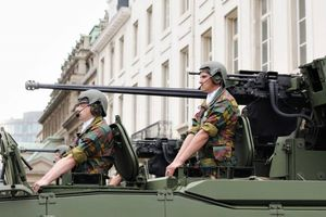 Lực lượng NATO đang luân chuyển ở Estonia
