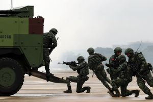 Lực lượng phòng vệ Đài Loan tập trận thực chiến