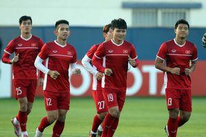 Tiền vệ Huy Hùng: 'Tuyển Việt Nam sẽ nắm lấy cơ hội trước Jordan'