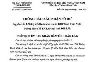 Kết quả hình ảnh cho Điều tra việc giả mạo văn bản của chủ tịch UBND tỉnh Đắk Lắk