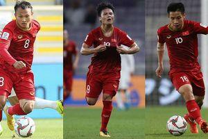Bất ngờ với top 5 cầu thủ chuyền bóng nhiều nhất tuyển Việt Nam