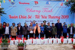 Ấm áp 'Xuân chia sẻ - Tết yêu thương 2019' ở biên giới Việt - Lào