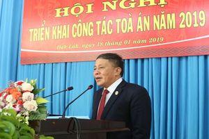 TAND hai cấp tỉnh Đắk Lắk triển khai công tác năm 2019
