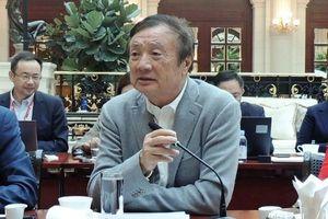 CEO Huawei khẳng định sẽ tự sản xuất thiết bị nếu Mỹ từ chối bán