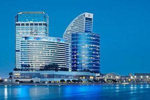 Cầu thủ Quế Ngọc Hải khoe phòng khách sạn view đẹp mà đội tuyển Việt Nam ở tại Dubai