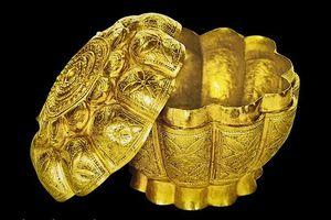 Công nhận Bảo vật Quốc gia cho hộp vàng tìm thấy ở Ngọa Vân