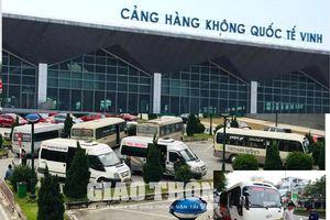 Thông tin mới nhất vụ xe 'trá hình' đại náo tại Cảng HKQT Vinh