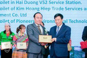 Trao giải thưởng 'Nhà vệ sinh công cộng tốt nhất ASEAN' năm 2019