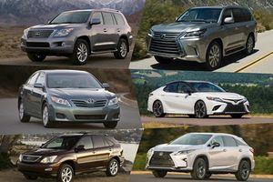 Nhìn lại sự thay đổi của một số mẫu ô tô trên thế giới sau 10 năm