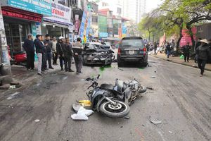 Xe 'điên' gây tai nạn liên hoàn, nhiều người thương vong
