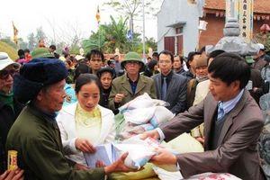 Hỗ trợ hơn 1.000 tấn gạo hỗ trợ nhân dân ăn Tết
