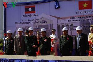 Khởi công dự án cải tạo, nâng cấp Bảo tàng lịch sử QĐND Lào