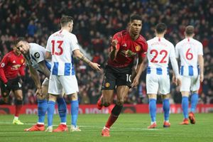 Song sát tung hoành, MU thắng Brighton 2 - 1