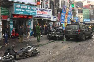 Đã xác định được danh tính lái xe gây tai nạn liên hoàn ở Hà Nội