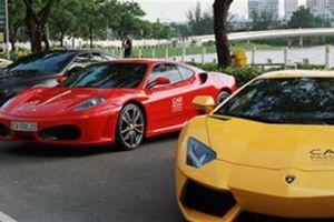 Đại gia Việt chơi siêu xe: May áo đẹp để cất đi?
