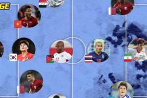 Đội hình tiêu biểu vòng bảng Asian Cup 2019: Có 1 cái tên Việt Nam