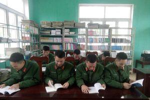Lan tỏa 'văn hóa đọc' ở Trung đoàn 2
