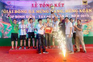 Cúp bóng đá Bình Điền Tây Ninh lần 2-2019: Báo Sài Gòn Giải Phóng đoạt Cúp đồng