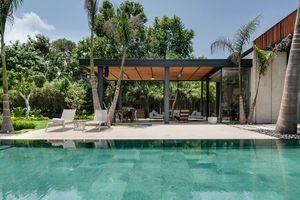 Ngắm ngôi nhà đẹp hơn resort, ngập tràn cây xanh và nắng