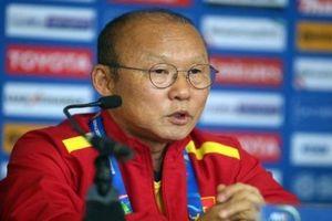 HLV Park Hang-seo bất ngờ với lối chơi phòng ngự ở hiệp 1 của Jordan