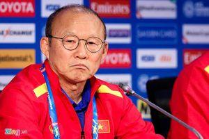 HLV Park Hang Seo phủ nhận tuyển Việt Nam đá tiêu cực