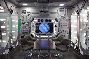 Trải nghiệm thú vị bên trong khách sạn tàu vũ trụ