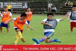 Hà Tĩnh nỗ lực gieo mầm tài năng từ bóng đá học đường