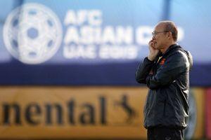 HLV Park Hang-seo toan tính gì trong cuộc đối đầu tuyển Jordan?