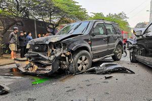 Danh tính tài xế điều khiển xe 'điên' gây tai nạn liên hoàn trên phố