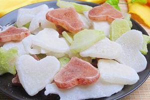 Các loại mứt Tết độc lạ hấp dẫn từ màu sắc tới hương vị