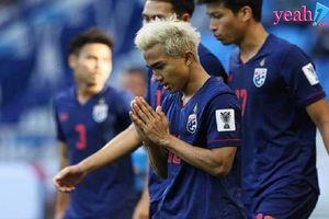Ở một diễn biến khác: Thái Lan chính thức bị loại khỏi ASIAN Cup 2019 sau trận thua trước Trung Quốc