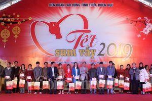 Thừa Thiên Huế: Hơn 450 suất quà cho chương trình 'Tết Sum vầy 2019'