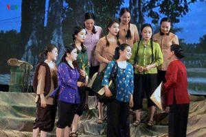 Kịch hát 'Hoa lửa Truông Bồn' chính thức ra mắt tại Hà Nội