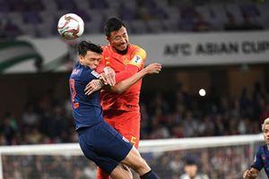 Trung Quốc ghi 2 bàn trong 5 phút, loại Thái Lan khỏi Asian Cup 2019