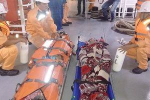4 thuyền viên ngạt khí dưới hầm tàu cá ngoài biển Vũng Tàu