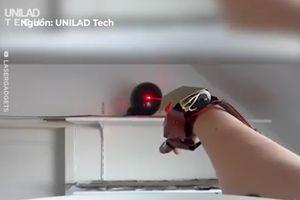 Fan Marvel chế tạo tay Iron Man, 'đốt cháy' mọi thứ bằng lazer