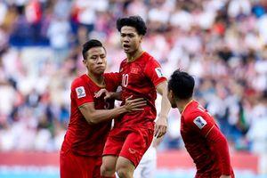 Hai cầu thủ xứ Nghệ được thưởng sau trận thắng Jordan