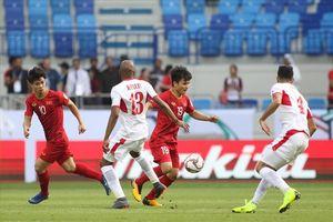 Thống kê vượt trội đáng kinh ngạc của ĐT Việt Nam trước đối thủ Jordan