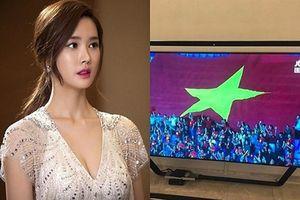Việt Nam thắng nghẹt thở Jordan, nữ minh tinh Hàn 'đăng đàn' chúc mừng