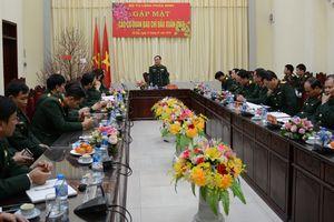 Bộ tư lệnh Pháo binh gặp mặt các cơ quan báo chí đầu xuân 2019