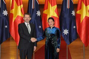Chủ tịch Thượng viện Australia thăm chính thức Việt Nam