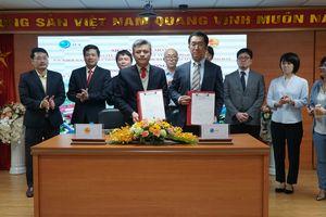 Lễ ký kết hợp đồng gói thầu số 1 xây dựng nhà máy nước thải Yên Xá
