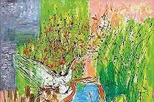 Văn Dương Thành trở lại với bộ tranh 'Hồng hạc với thiên nhiên'