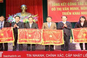Năm 2019, TP Hà Tĩnh phấn đấu 100% phường, xã đạt chuẩn văn minh đô thị và nông thôn mới
