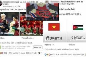 83% fan mong Jordan thắng Việt Nam, Thái Lan thua Trung Quốc vì bị quả báo?!