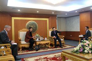 Bộ trưởng Trần Hồng Hà tiếp và làm việc với các đại sứ Sri Lanka, Na Uy tại Việt Nam