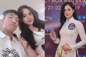 Bạn gái cầu thủ Trọng Đại rạng rỡ tham gia dự tuyển Hoa hậu bản sắc Việt toàn cầu 2019